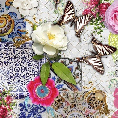 Wachstuch Wilder Mosaiken