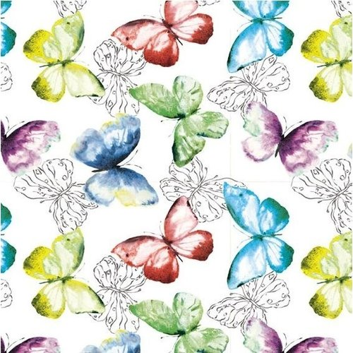 Wachstuch Schmetterlinge
