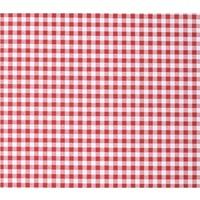 Wachstuch Rot Weiß Kariert Klein
