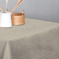 Tischdecke abwaschbar Graphic Grau