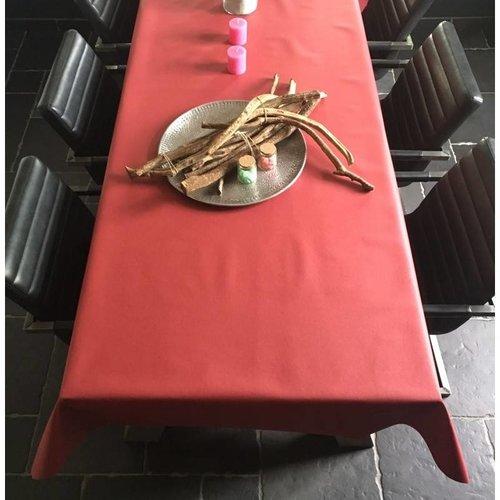Tischdecke Abwaschbar Cereza Rot Uni 180CM