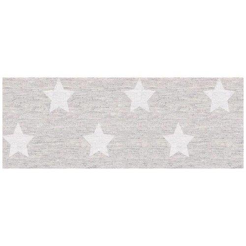 Tischdecke abwaschbar Stern Silber