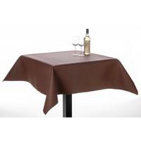 Tischschutz Soft PVC Braun mit Relief