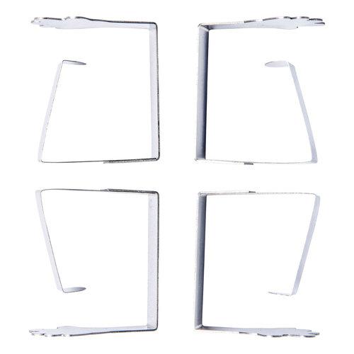 Tischdeckenhalter Metall