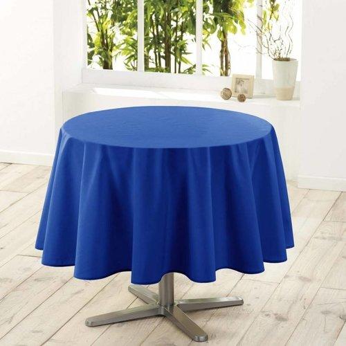 Tischdecke Rund Essential Blau 180CM