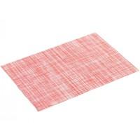 Tischset PVC Punto Rot