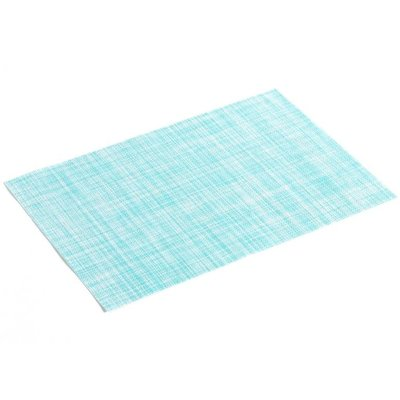 Tischset PVC Punto Hell Blau