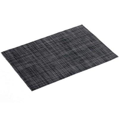 Tischset PVC Punto Schwarz