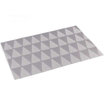 Tischset PVC Takea Grau