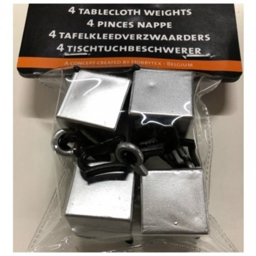 Tischdeckenhalter Silver Mix
