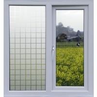 Fensterfolie MC Statisch 2D 45CM Breit - Druck Vierecke