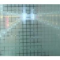 Fensterfolie MC Statisch 2D 90CM Breit - Druck Vierecke