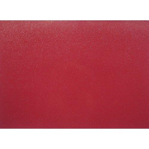 Tischset PVC Glitter Rot