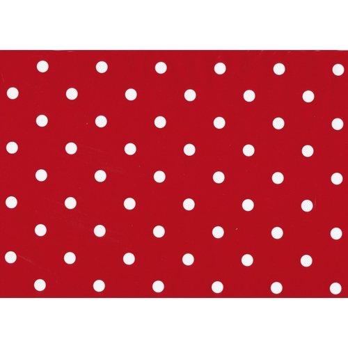 Klebefolie Punkte Rot 45cmx2m