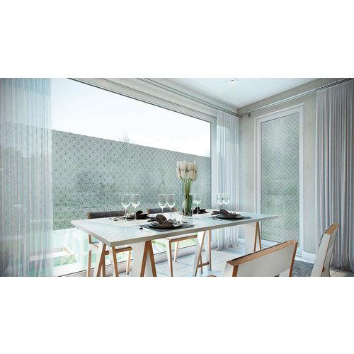 LineaFix Fensterfolie Statisch Rissani - 92CM breit