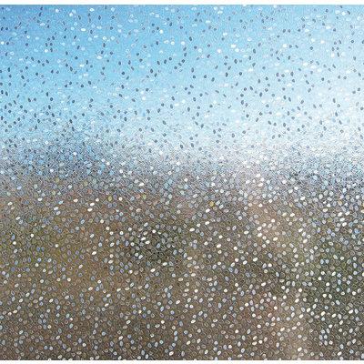 LineaFix Fensterfolie Statisch Rice - 92CM breit