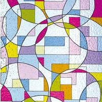 LineaFix Fensterfolie Statisch Decorativa- 46CM breit