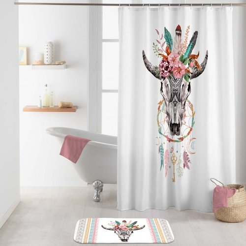 Superdekoshop.de Duschvorhang Buffle Spirit 180 x 200 cm