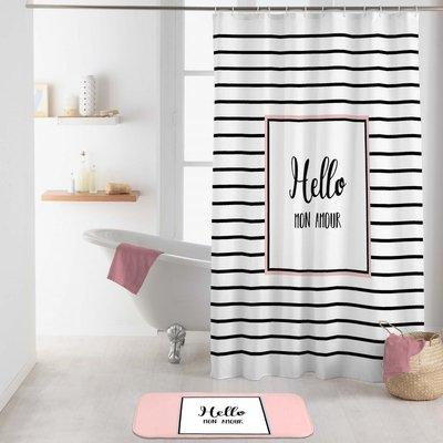 Duschvorhang Hello Mon Amour 180 x 200 cm