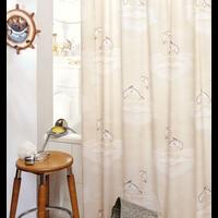 Duschvorhang Sele Beige 180 x 200 cm