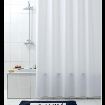 Duschvorhang Tavere Weiß 180 x 200 cm