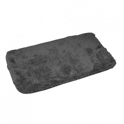 Badematte Grau 50 x 80 cm