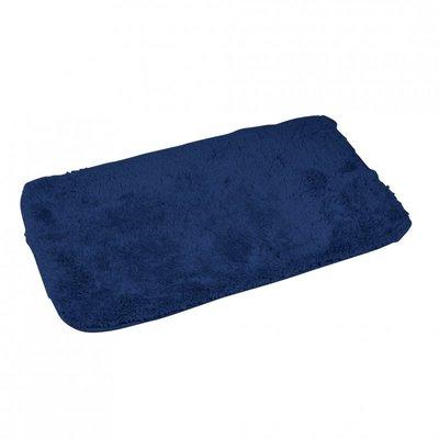 Badematte Dunkel Blau 50 x 80 cm