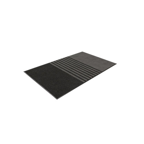 Fußmatte Trinity Schwarz 10 mm Dick
