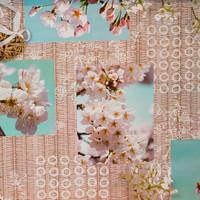 Wachstuch Blüten Brokante