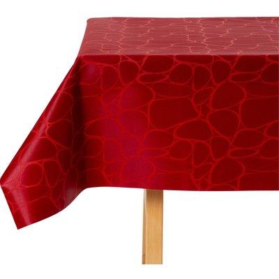 Tischdecke abwaschbar Tramantuna Rot