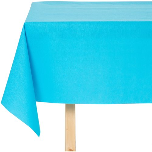 Tischdecke abwaschbar Maly Türkis Blau Uni 160CM