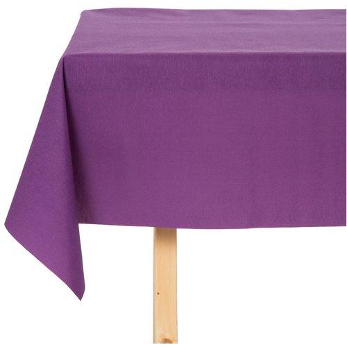 Tischdecke abwaschbar Maly Morado Violett Uni 160CM