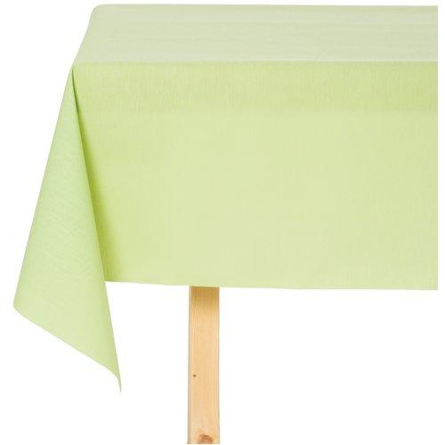 Tischdecke Abwaschbar Maly Verde Grün Uni 140CM