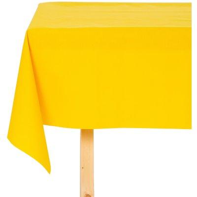Tischdecke Abwaschbar Maly Gelb Uni 160CM