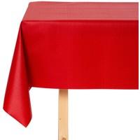 Tischdecke abwaschbar Linado Rot