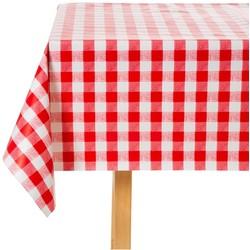 Rot Weiß Karierte Tischdecke