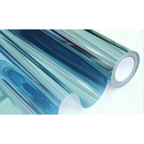 Sonnenschutzfolie Statisch Blau Transperant - 152CM Breit
