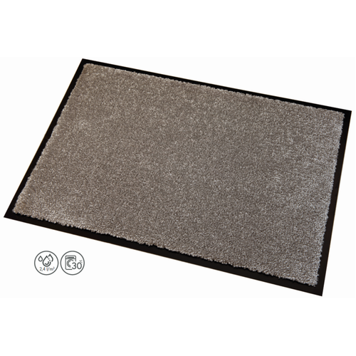 Fußmatte Memphis Dunkel Grau - 9 mm Dik