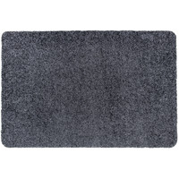 Türmatte Washclean Dunkel Grau Nach Maß - 9cm Dick 120cm Breit