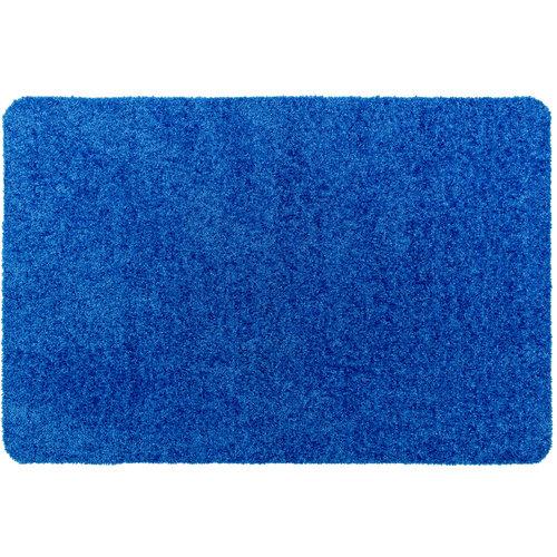 Türmatte Washclean Blau Nach Maß - 9cm Dick 120cm Breit
