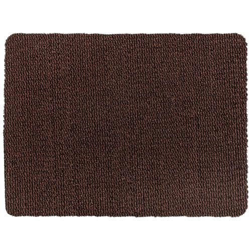 Fußmatte Faro Schwarz - Rost Maßgeschneidert - 8 mm Dick 1.20 Breit