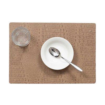 Tischset Croco Beige