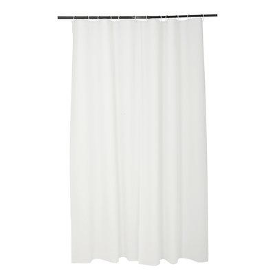 Duschvorhang 100% Peva Weiß 180 x 200 CM