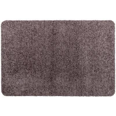 Fußmatte Washclean Taupe - 9mm Dicke