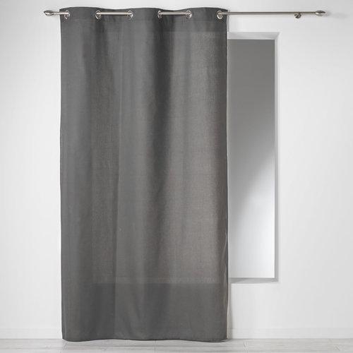 Superdekoshop.de Fertiger Vorhang Dunkel Grau 140 x 240 CM