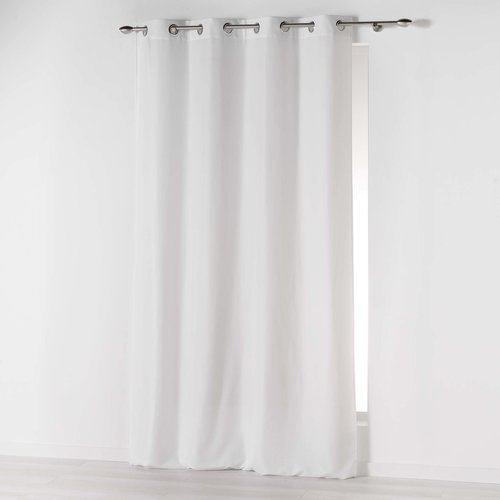 Fertiger Vorhang Ringen Weiß 140 x 260 CM