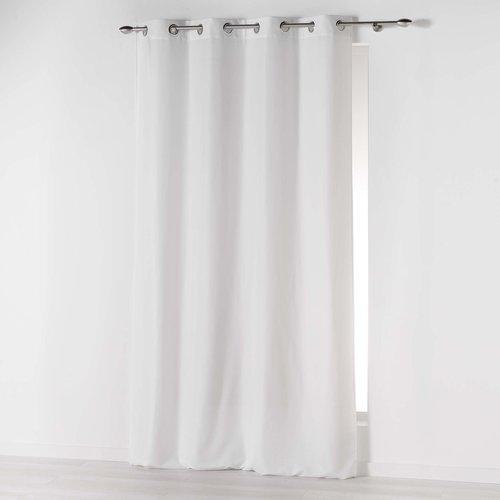 Superdekoshop.de Fertiger Vorhang Ringen Weiß 140 x 260 CM