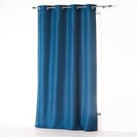 Superdekoshop.de Fertiger Vorhang Ringen Blau 140 x 260 CM