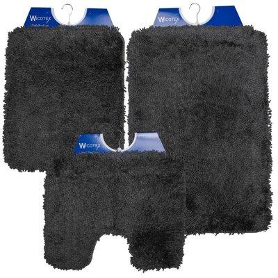 Badematte - Toilettenmatte- Bidetmatte Anthrazit