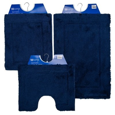 Badematte - Toilettenmatte- Bidetmatte Blau